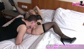 German Mom Creampie With Son In Motel