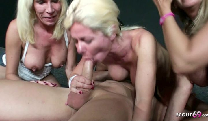 1080p - 3 Dutch Mom Screw Stranger At Party In Swingerclub