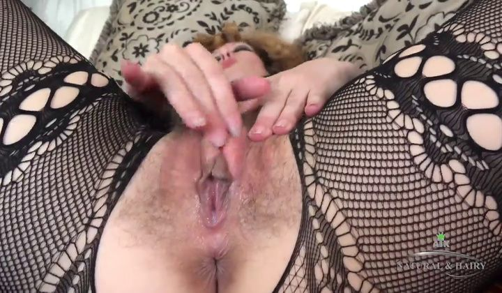 Mature - Hairy Mom Solo