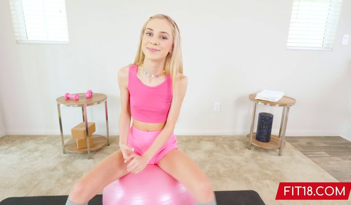 POV - Barely Legal Thin Teenager Chanel Shortcake Casting To Be A F…