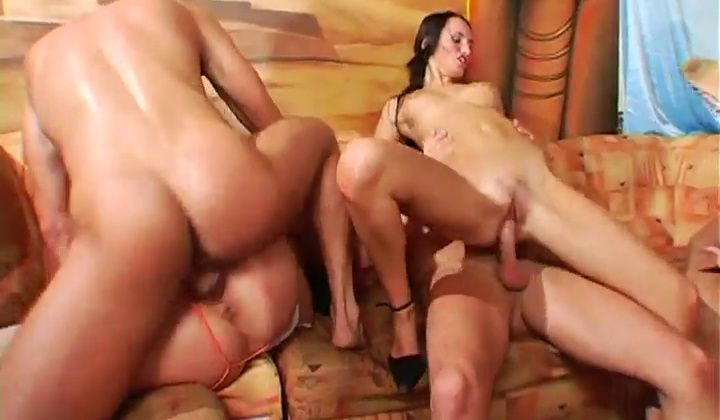 Blonde - Club Turns Into A Wild Group Lovemaking