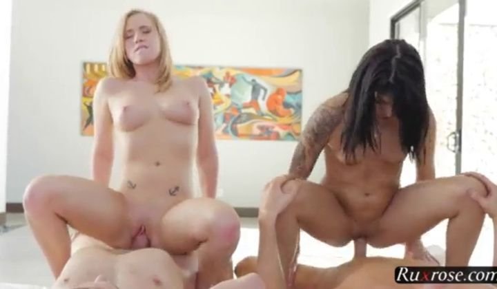 Sadie Pop And Bailey Brooke Group; Group. Teen. Hardcore. F…