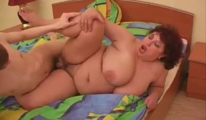 Granny - Russian Bbw Mature Big Tits